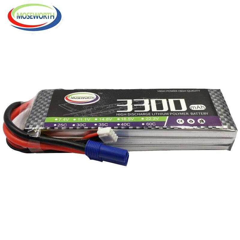 MOS RC LiPo Batterie 11,1 v 3300 mAh 25C 3 S Batterien Für RC hubschrauber rc auto rc boot quadcopter li-Polymer batteria