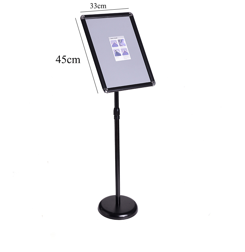 Desk Accessories & Organizer Floor Sign Stand A3 Floor Poster Menu Frame Lifting Billboard Hotel Door Guide Advertising Banner Floor Stand Signage Rack
