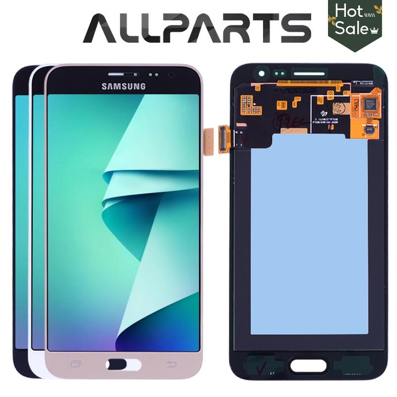 AMOLED 5.0 2016 Display LCD para SAMSUNG J3 J3 J3 2016 Display LCD Touch Screen Digitador para SAMSUNG GALAXY J3 2016 J320 J320FN
