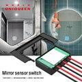 Touch sensor control schalter für smart spiegel licht  DIY waschraum spiegel lampe  DC12V 36W last  schalter modus  dimmer  CCT modus-in RGB-Controller aus Licht & Beleuchtung bei