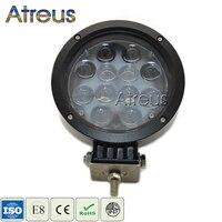 Atreus 7Inch 60W Car LED Work Light Bar 12V 24V Spot 4D Lens DRL Lamp For ATV 4X4 4WD Offroad Trailer Jeep Driving Fog Lights