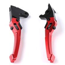 for Yamaha aerox 155 motorcycle brake handle 3D adjustable hand pull rod hand brake horn стоимость