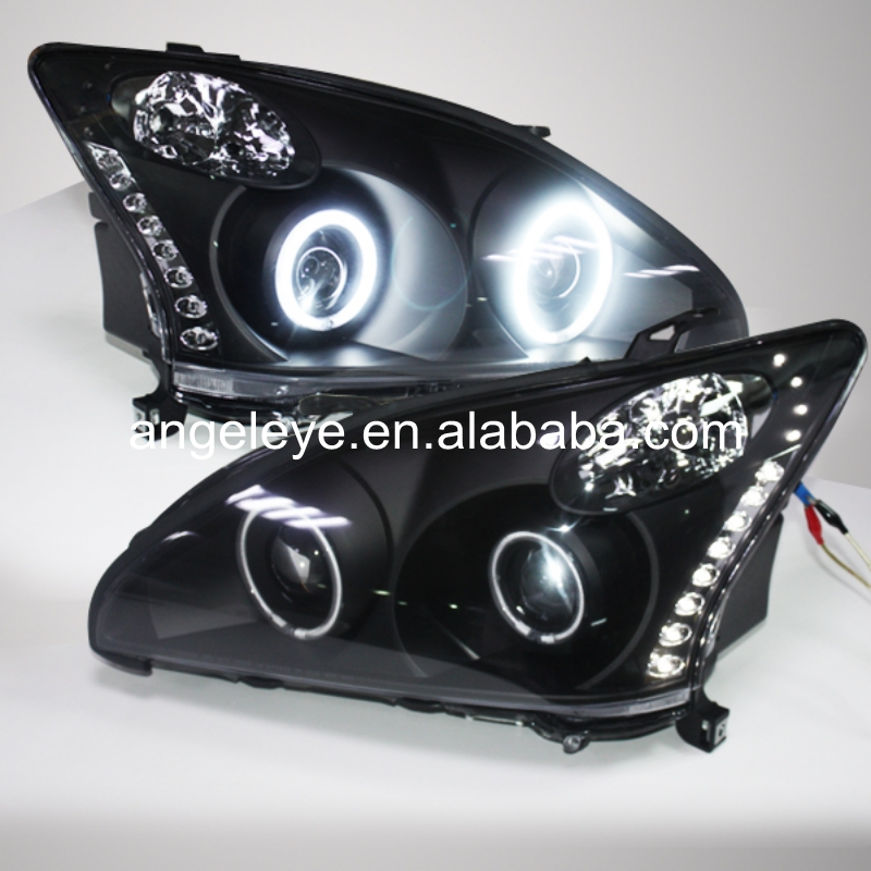 For Lexus for RX330 RX350  LED Angel Eye Head Lamp 2003-2008 Year SNFor Lexus for RX330 RX350  LED Angel Eye Head Lamp 2003-2008 Year SN