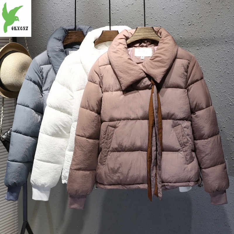 74a5812e905 2018 Winter Short Female Cotton Jacket Bread Thickening Personality Casual Women s  Cotton Coat Plus Size M