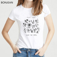Wildflower Graphic Tees Women Floral Print T Shirt femme Sunshine Plant These Tee female T-shirt 90s aesthetic clothes tshirt floral and graphic print buttons henley t shirt