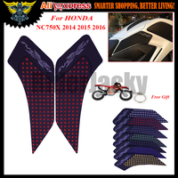 3M Silica Gel Motorcycle Tank Pad Protector Sticker Decal Gas Knee Grip Tank Traction Pad For
