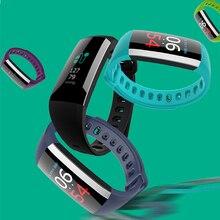 G19 Pulseira Inteligente Monitor de Pressão Arterial Medidor De Pulso de Fitness Banda de Freqüência Cardíaca Relógio De Fitness Pedômetro Inteligente Pulseira rastreador Inteligente