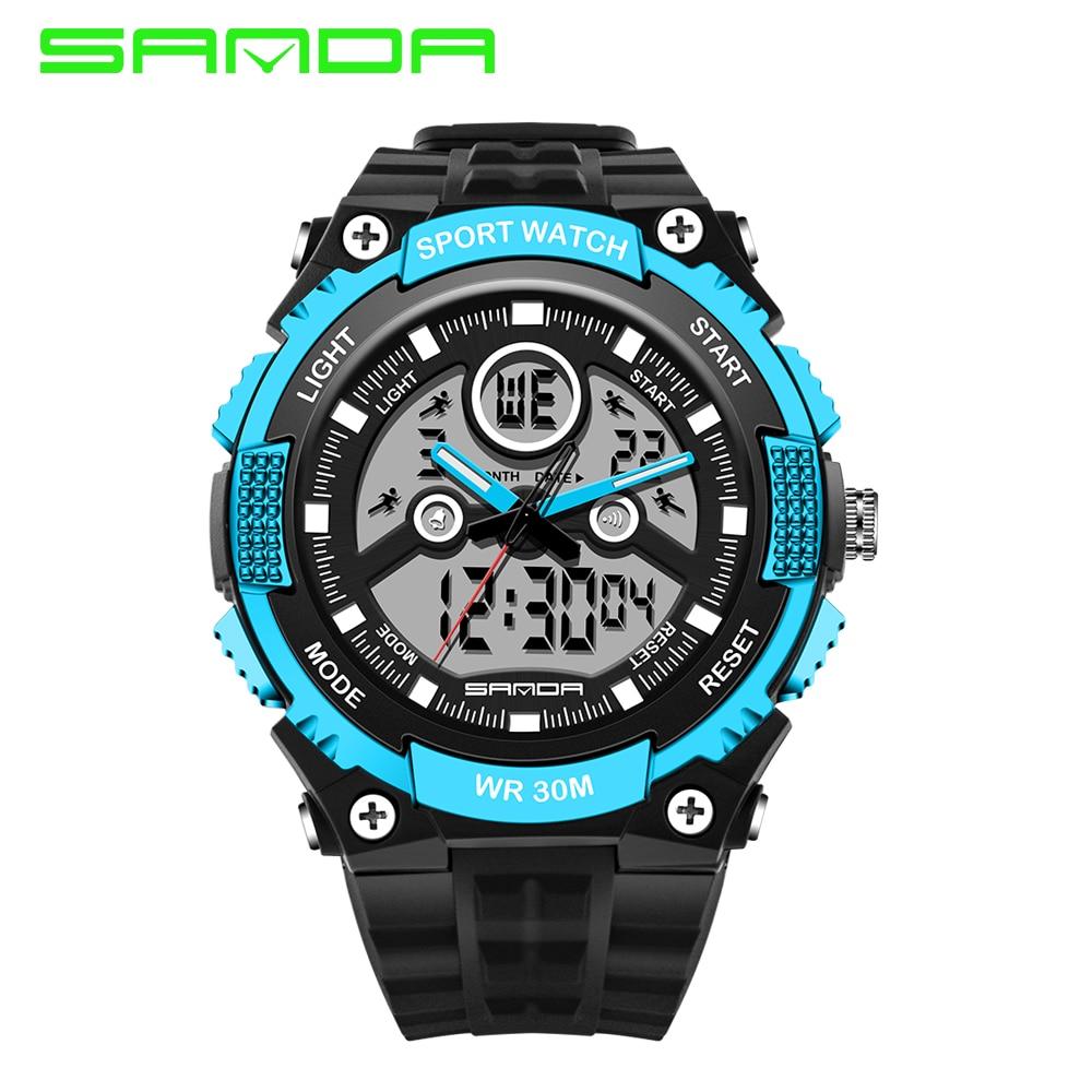 2017 brand sanda watches outdoor g style sport digital watch men multi function waterproof s for Outdoor watches