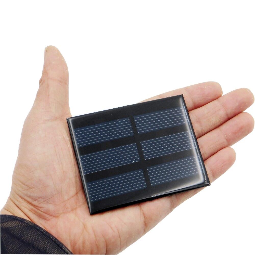 1pc X 1.5V 0.65W Solar Panel Portable Mini Sunpower DIY Module Panel System For Solar Lamp Battery Toys Phone Charger Solar Cell
