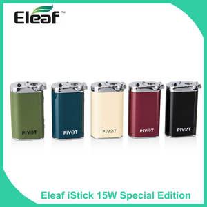 Eleaf Vape-Box Vapors Pivot E-Cigaratte 15W Mod 1050mah Special-Edition Builtin Original