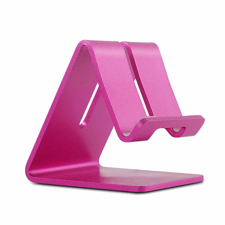 Универсальный держатель для мобильного телефона из алюминиевого сплава, офисный письменный стол, подставка для телефона Iphone 6s Plus 5c/5s samsung galaxy