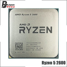 AMD Ryzen 5 2600 R5 2600 3.4 GHz 6-Core Dua Belas-Core 65W Prosesor CPU YD2600BBM6IAF Socket AM4(China)