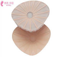 100g/PC Silicone Artificial Breast For 75A/70B Bra,Double Layers Temperature Control Super Soft Fake Breast For Mastectomy