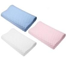 Горячая подушка из пены с эффектом памяти 3 цвета Ортопедическая подушка латексная подушка для шеи мягкое волокно медленный отскок Подушка массажер шейный уход за здоровьем