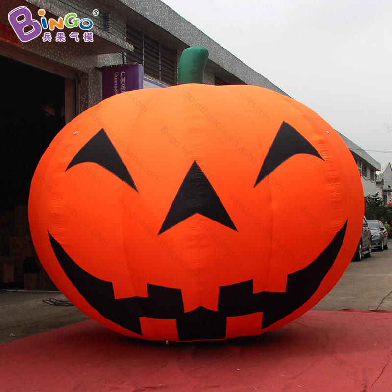 Free Shipping Halloween decoration inflatable giant pumpkin model 4X3.2 Meters high quality blow-up cushaw inflatables toyFree Shipping Halloween decoration inflatable giant pumpkin model 4X3.2 Meters high quality blow-up cushaw inflatables toy