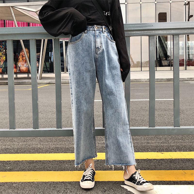 Jeans Women's Clothing Guuzyuviz Autumn Winter Plus Size Jeans Woman Vintage Casual Print Hole Ripped Washed Cotton Denim High Wasit Pants Mujer Great Varieties