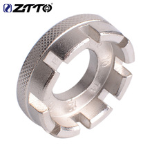 ZTTO bicycle spoke wrench tools mountain bike road steel wheels tool 6 sizes in one
