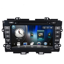 Free shipping 8″ Car audio DVD Player GPS Navigation in Dash For Honda Crider 2011 to 2014 with radio Bluetooth Ipod RDS USB SD