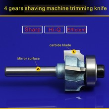 1/4*26MM woodworking milling cutter for bag sealer AIR TRIMMER 4 gears shaving machine trimming knife 1PC NO:4632