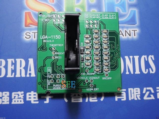Portátil LGA1150 CPU Tester testador tomada de carga falso manequim com LED