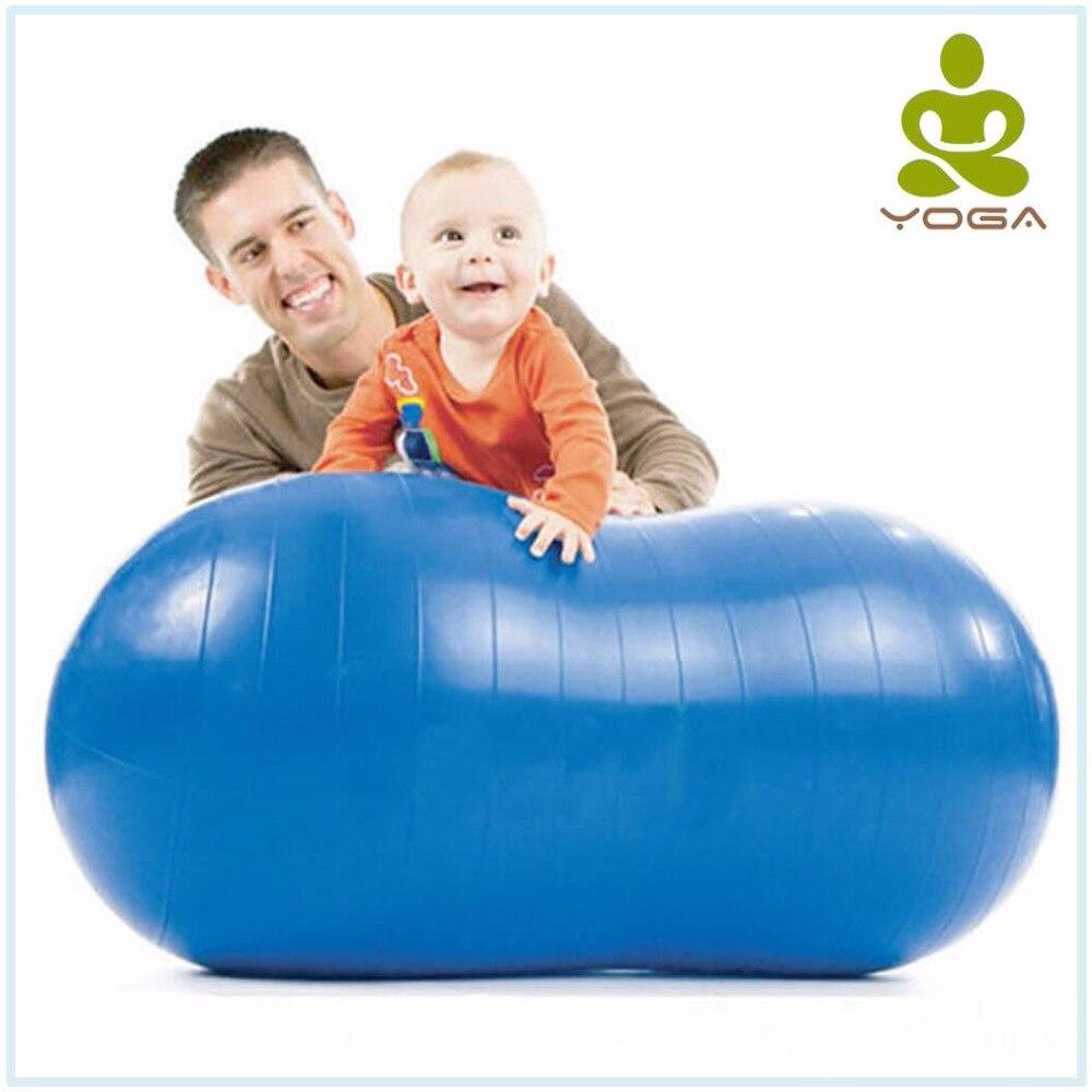 Anti-Burst Pilates Yoga Ball Home Fitness Exercise Equipment Sports Gym Peanut Yoga Ball Fitball For The Yoga Tiro 3 Color