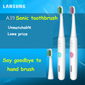 LANSUNG 2016 Battery Operated Electric Toothbrush Oral Hygiene Health Products No Rechargeable Tooth Brush blue or pink color