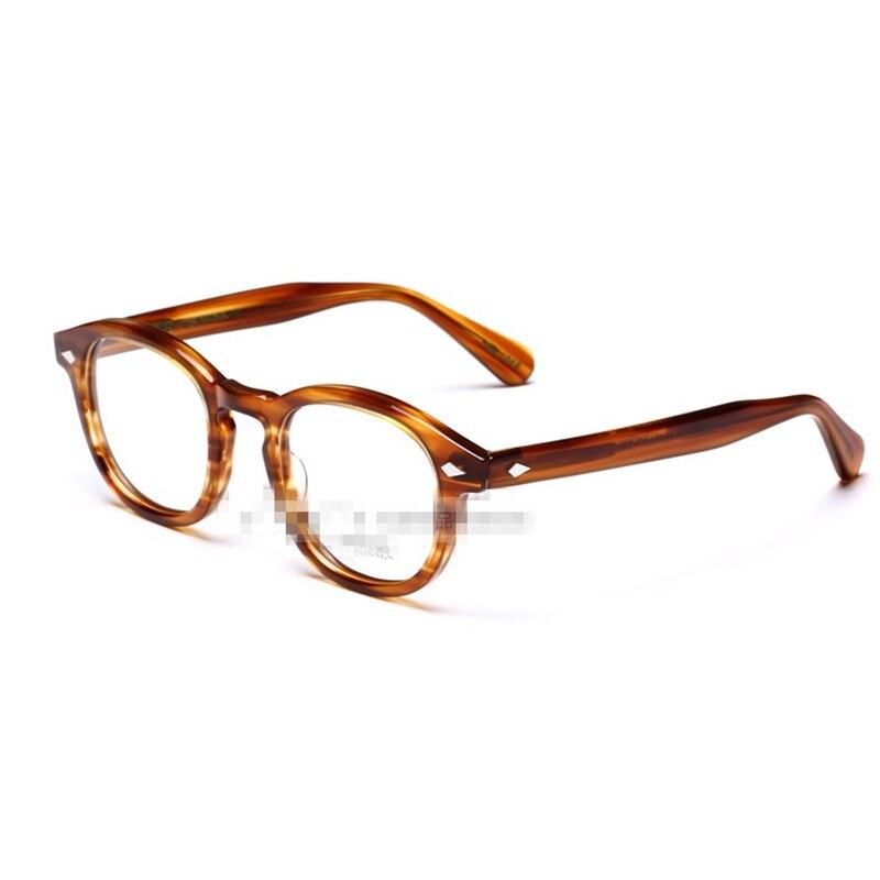 Оправа для компьютерных очков Новая мода 2018 Высокое качество для женщин мужчин компьютер круглый прозрачные очки с Оригинальный чехол