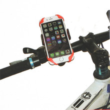Universal Bike Bicycle Motorcycle Handlebar Mount Holder Phone Holder With Silicone Support For Samsung iphone Smart Phone GPS
