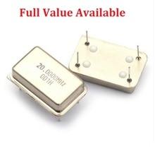 5PCS DIP 4P 16MHZ 16 M/4 MHZ/8 MHZ/10 MHZ/11.0592 MHZ/22.184 MHZ/12 MHZ/20 MHZ/24 MHZ/40 MHZ/50 M/MHZ สี่เหลี่ยมผืนผ้า active Crystal Oscillator