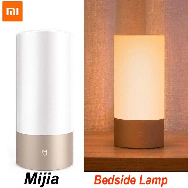 Xiaomi Mijia Smart Bedside Lamp Light  Bluetooth WiFi LED Light Smart Indoor Night Light Touch Control Smart App Control