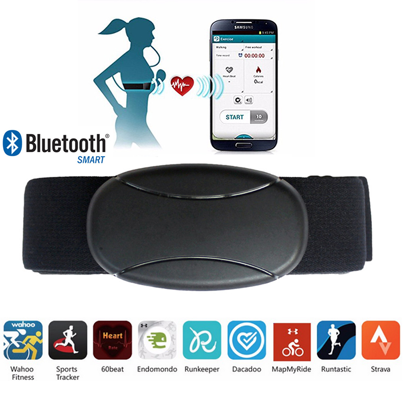 Heart Rate Monitor Chest Strap StCeinture Cardio Bluetooth Smart Cardio Moniteur De Frequence Cardiaque Pour IPhone Et Android