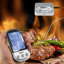 Buy online VKTECH Digital Meat Thermometer Wireless Food Cooking BBQ Thermometer LCD Temperature Gauge Kitchen Cooking Tool Household Meter