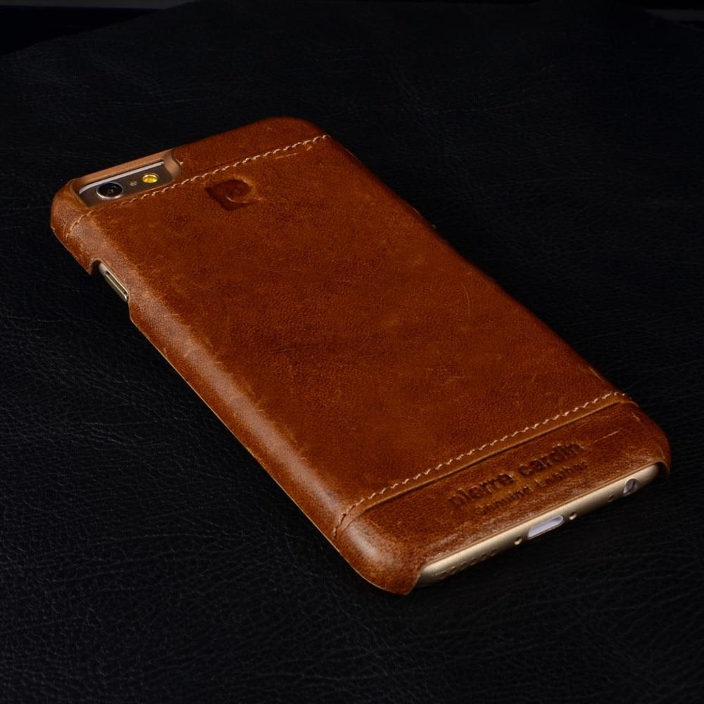 İPhone X 8/8 üçün Pierre Cardin Orijinal Dəri Çanta Qapağı, - Cib telefonu aksesuarları və hissələri - Fotoqrafiya 3