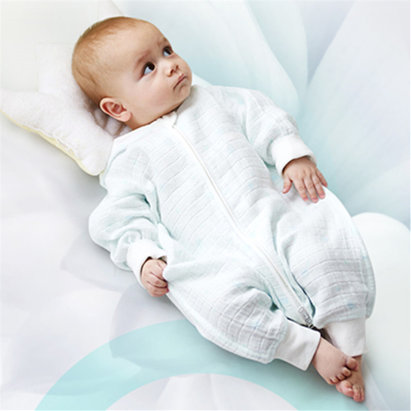 Baby Sleeping Bag Envelope For Newborns Kids Elodie Details 100% Cotton Baby Coveralls For Summer