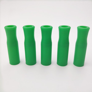 Image 5 - 11 Colors Silicone Tips For Stainless Steel Straws Tooth Collision Prevention Straws Cover Silicone Straw Tips