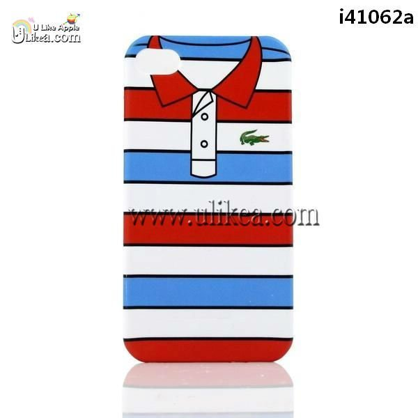 Various Styles Clothes Design Case T-shirt Cloth Skin Cover for iPhone 4S/4/4G with logo,10pcs/lot