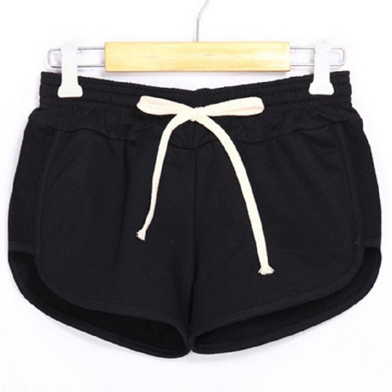 Candy Farbe Casual Baumwolle Kurze Niedrige Taille Shorts Frauen Workout Strand Reise Shorts Größe S-xxl #70596 Reine WeißE Gepäck & Taschen