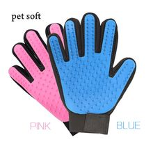 Silicone Grooming Glove for Pet Bath Massage Pet Cleaning Grooming Dog Cat Combs Cleaner Pet Bath Brush Home Decor Accessories(China)