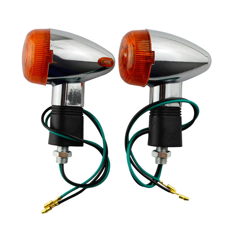 Motorcycle Turn Signal Light Lamp For Yamaha XV250 XV 250 Suzuki GSX250 GSX400 GSX 250 400
