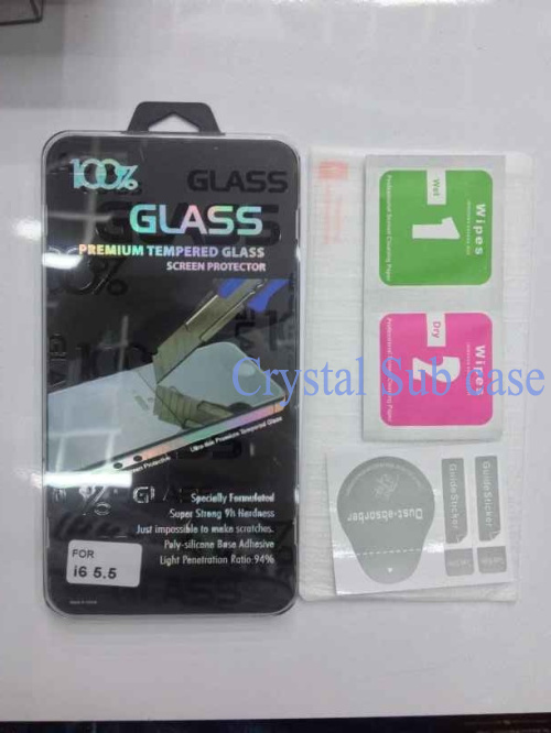bilder für 0,3mm 2.5d 9 h erstklassiger ausgeglichenes glas-schirm-schutz für iphone 6 kleinpaket dhl fedex, 1000 teile/los