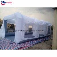 М 7*4*2,5 м используется спрей надувная палатка автомобиля краски кабины, Бесплатная air воздуходувы надувные автомобиля краски стенд для прода