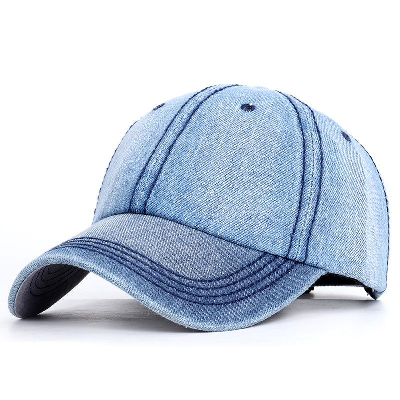New hat for men and women spring and autumn   baseball     cap   Korean fashion naked jeans hats outdoor