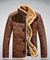 2017 youth orange famosa marca coreana de ropa casual de invierno cálido chaquetas tallas grandes moda thicking delgada capa M-3XL