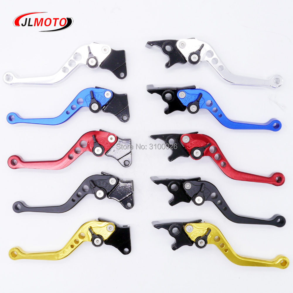 Adjustable CNC Disc/Drum Handle Bar Brake Lever Fit For 50cc 110cc 125cc Moped Motorcycle Electric Scooter Motor Bike Parts