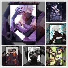 NARUTO Hatake Kakashi Anime manga wall Poster Scroll C
