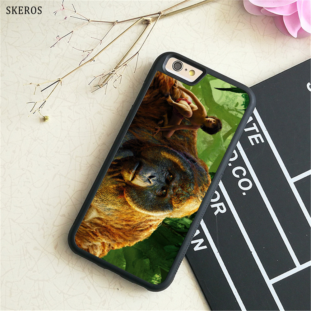 SKEROS The Jungle Book 5 phone case for iphone X 4 4s 5 5s 6 6s 7 8 6 plus 6s plus 7 & 8 plus #B746