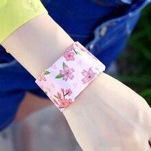 Водонепроницаемый браслет Бумажные часы Креативный светодиодный часы красивый бумага ремешок часы спортивные часы наручные часы