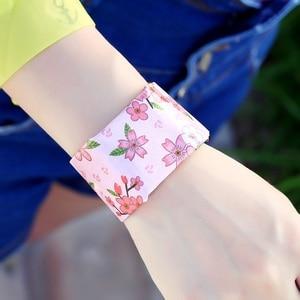 Image 4 - Reloj de pulsera creativo de papel reloj LED impermeable accesorios de reloj Digital de papel Correa relojes deportivos reloj de pulsera