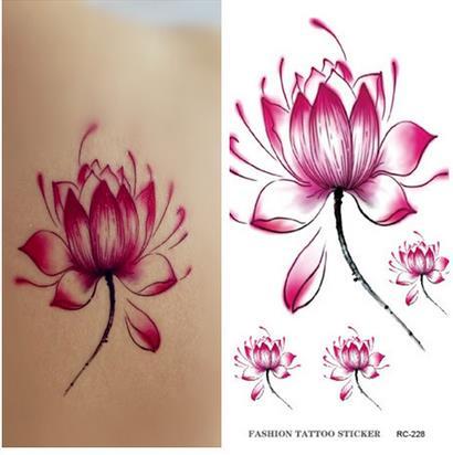 10 PCS Men Women Fake Tattoo sleeve Many cute animals Cat butterfly flower Body Art Flash Waterproof Temporary Tattoos Stickers 12