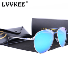 LVVKEE Brand 2017 Super luxury Designer Polarized Pilot Sunglasses women/men big size Sun Glasses UV400 Eyewear Accessories